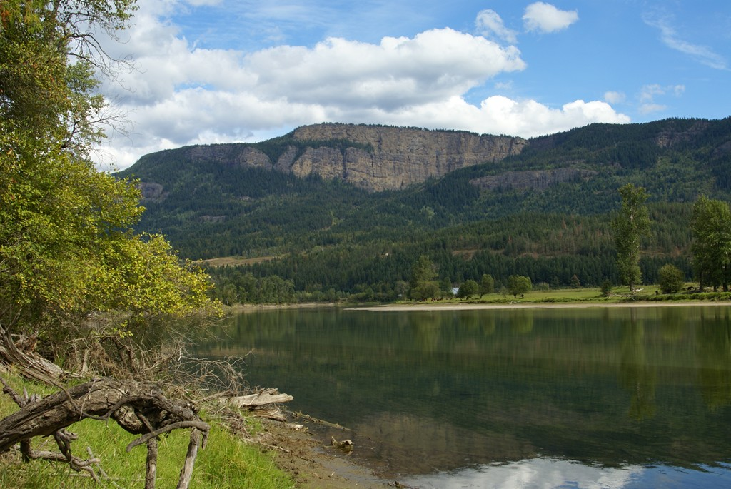 Shuswap river