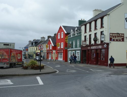 Shoppen in Dingle en een lange wandeling naar Dunquin