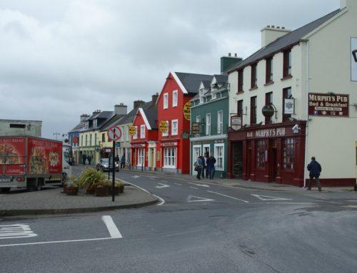 Shoppen in Dingle en een lange wandeling naar Dunquin