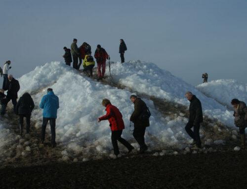 IJsbergen aan de Fryske kust