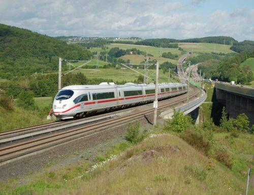 Met de trein op vakantie