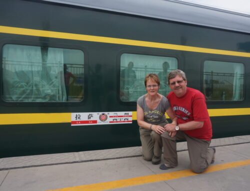 De trein naar Lhasa